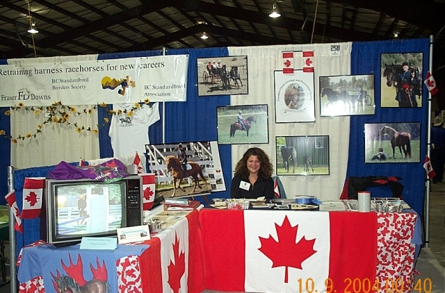 CHHAPS' first booth at the Mane Event in 2004